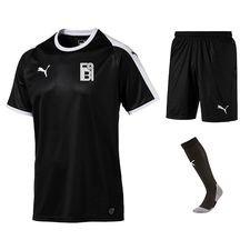 fredensborg bi - udebanesæt sort - fodboldtrøjer