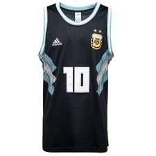 argentina training t-shirt seasonal special n/s - night navy/white - training tops