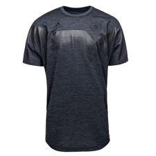 tyskland trænings t-shirt - sort/grå - træningstrøjer