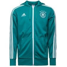 germany hoodie 3s fz - equipment green/white - hoodies