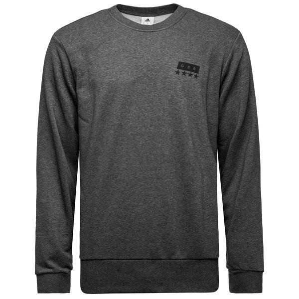 dfb deutschland sweatshirt graphic grau schwarz www. Black Bedroom Furniture Sets. Home Design Ideas