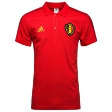 belgium polo 3s - vivid red - polo shirts