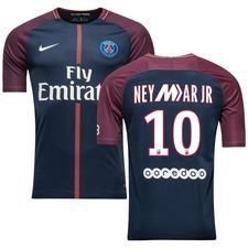 Paris Saint-Germain Hjemmebanetrøje 2017/18 Neymar JR 10 Mercurial LE