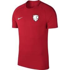 ishøj if - træningstrøje rød - fodboldtrøjer