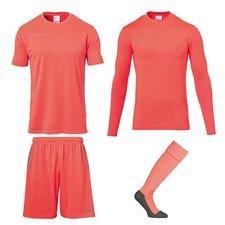 Uhlsport Torwartset Score - Hi-Vis Orange/Grau