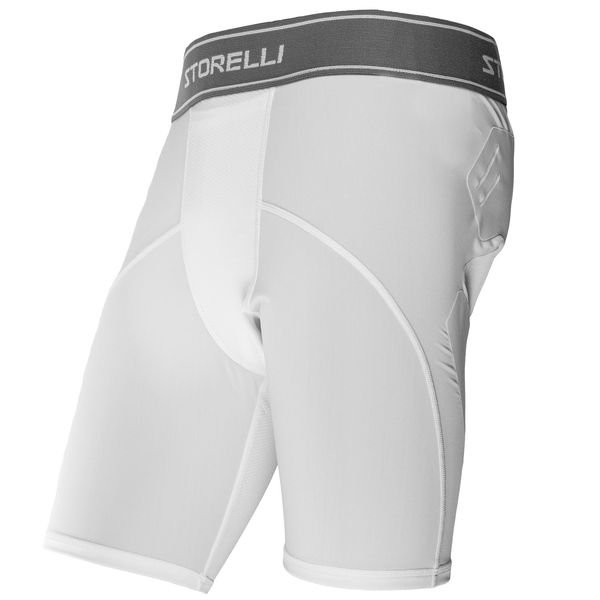 storelli baselayer sliders bodyshield abrasion - hvid - baselayer