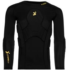 storelli goalkeeper shirt baselayer bodyshield 3/4 - black kids - baselayer