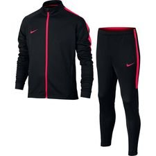 nike tracksuit dry academy - black/siren red kids - track suits