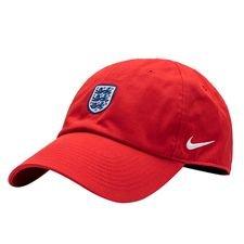 england kasket h86 - rød/rød/hvid - huer