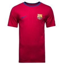 Barcelona T-Shirt Crest - Bordeaux/Navy