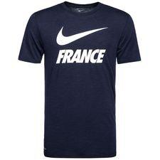 frankrig t-shirt dry pre season - navy - t-shirts