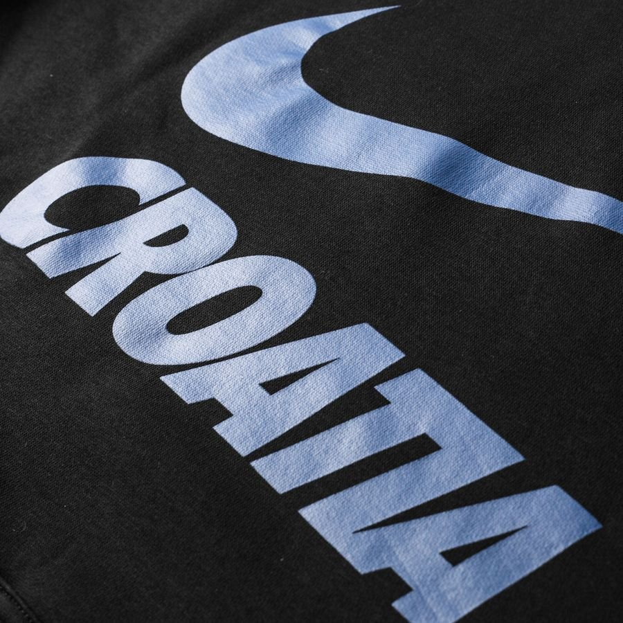 Croatia Hoodie NSW Crest BlackGym Blue
