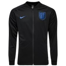 england training shirt dry squad drill - black/sport royal - training tops
