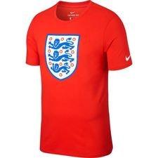 england t-shirt crest - rød - t-shirts