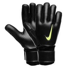 nike goalkeeper gloves premier sgt reverse stitch promo just do it - black/volt - goalkeeper gloves