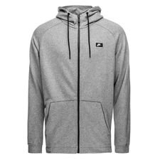 nike hoodie nsw modern fz ft - carbon heather - hoodies