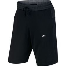 nike shorts nsw modern lightweight - sort - træningsshorts