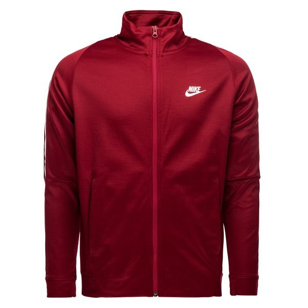 2bc206cffbfad Nike Jacke NSW N98 Tribute - Bordeaux Weiß 0