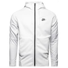 nike jacket nsw tribute - white/black - jackets