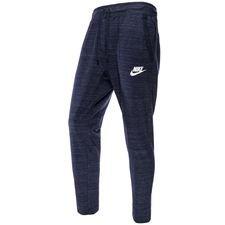 nike sweatpants nsw advance 15 knit - navy - sweatpants