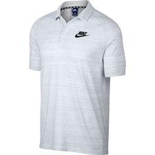 Image of   Nike Polo NSW Knit Advance 15 - Hvid/Sort
