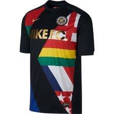 Nike F.C. Trainingsshirt - Zwart