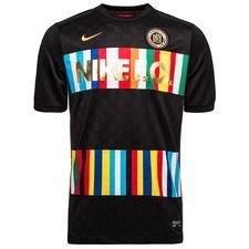 Nike F.C. Training T-Shirt - Schwarz/Blau