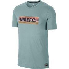 nike f.c. t-shirt crew 365 - grøn - t-shirts