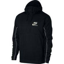 nike jacket nsw hd woven - archive black/sail - jackets