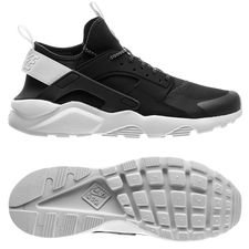 nike air huarache run ultra - sort/hvid - sneakers