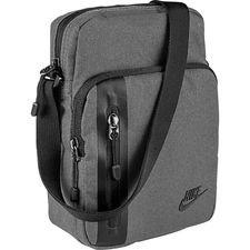 nike tech taske small - grå/sort - tasker