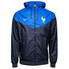 frankrig windrunner woven authentic - navy/blå/hvid - jakker