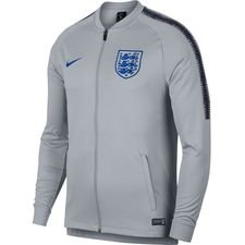 england training jacket dry squad drill - wolf grey/blackened blue - training jackets