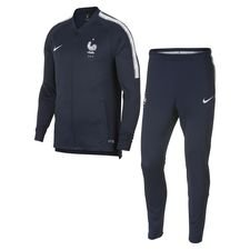 france tracksuit dry squad - obsidian/white - track suits