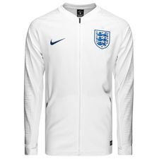 england training jacket anthem - white/royal blue - training jackets