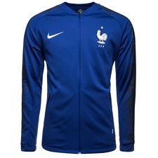 france training jacket anthem - deep royal blue/white kids - training jackets