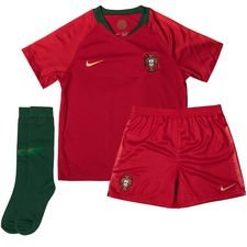 portugal home shirt world cup 2018 mini-kit - football shirts