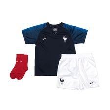 frankrig hjemmebanetrøje vm 2018 baby-kit - fodboldtrøjer