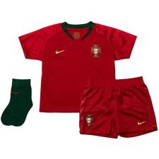 portugal home shirt world cup 2018 baby-kit - football shirts