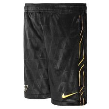 nike trainingsshorts dry academy cr7 chapter 6:born leader - zwart/goud kinderen - trainingsshorts