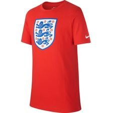 england t-shirt crest - challenge red kids - t-shirts