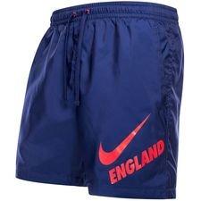Image of   England Shorts NSW Woven Crew - Blå/Rød