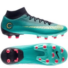 Nike Mercurial Superfly 6 Academy MG - CR7 Turkis/Guld/Sort
