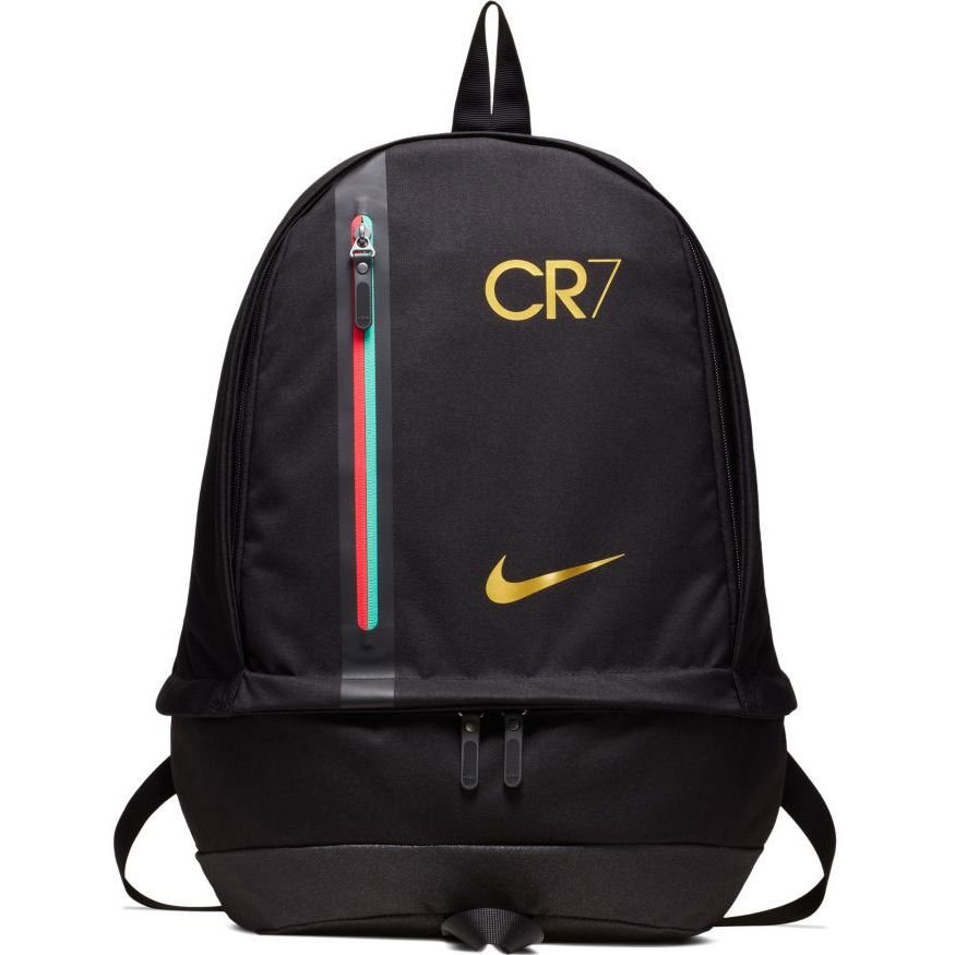 Nike Backpack Cr7 Chapter 6 Born Leader Black Metallic