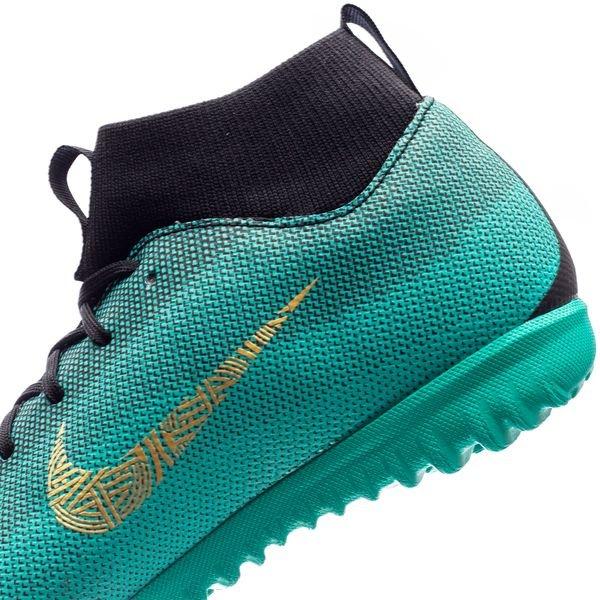 Nike Mercurial Superfly 6 Mg Académie Chapitre 6 Cr7: Né Chef - Turquoise / Geel / Zwart B2TNJ1TBT8