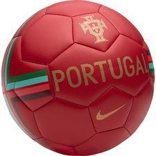 Portugal Fodbold Skills - Rød/Guld