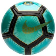 nike football skills cr7 chapter 6:born leader - clear jade/black/gold - footballs