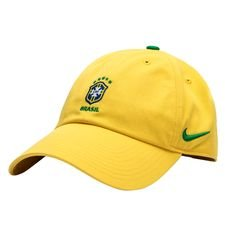 brasilien kasket h86 - gul/grøn/guld - kasket