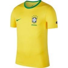 brazil t-shirt crest - midwest gold/lucky green - t-shirts