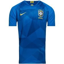 brazil away shirt world cup 2018 kids - football shirts